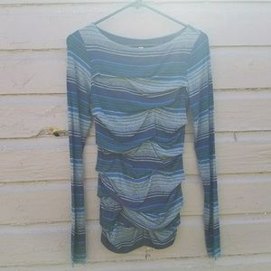 Bailey 44 Anthropologie Striped Long Sleeve